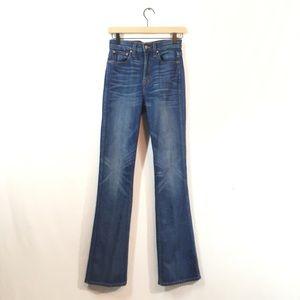 J Crew Point Sur Presley Demi Boot Jeans